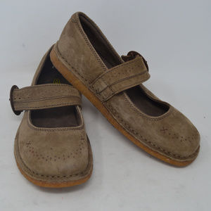 KEEN Women's Brown Suede Leather Mary Jane Shoes